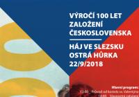 Výročí 100 let založení Československa