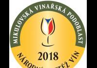 Národní soutěž vín mikulovské vinařské podoblastí 2018