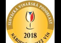Národní soutěž vín slovácké podoblasti 2018