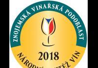 Národní soutěž vín znojemské podoblasti 2018