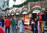 Vánoční trhy na Tylově náměstí v Praze
