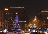 Vánoční trhy na náměstí Míru v Praze