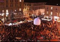 Vánoce na náměstí Svobody v Brně