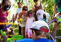 Den dětí v centrálním parku u Rajské zahrady - Praha
