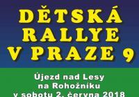 Dětská rallye v Praze