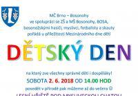 Den dětí - Brno Bosonohy