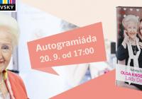 Autogramiáda Olgy Knoblochové a Isabelly Hančlové