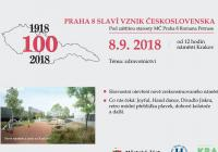 Praha osm slaví vznik Československa