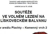 Soutěže ve volném lezení - Brno Starý Lískovec