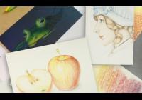 Víkendový kurz kreslení pastelkami