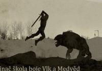 Zaklínač škola boje Vlk a Medvěd