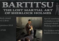 Bartitsu Sherlocka Holmese, vycházková hůl speciál
