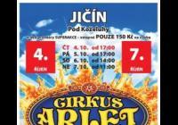 Cirkus Arlet v Jičíně