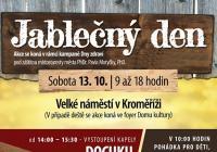Jablečný den na náměstí v Kroměříži