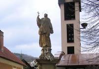 Socha sv. Jana Nepomuckého, Luhačovice