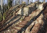 Zřícenina hradu Starý Světlov, Podhradí