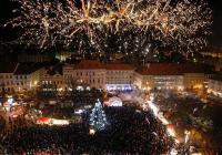 Rozsvícení vánočního stromu - Litoměřice