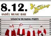 Vánoční Busking Párty v Andělu!