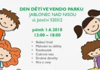 Den dětí - Vendo Park Jablonec nad Nisou