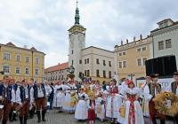 Dožínky v Kroměříži