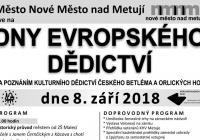 Dny evropského dědictví - Nové Město nad Metují