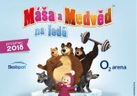 Máša a medvěd na ledě v Praze