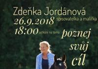 Setkání se Zdeňkou Jordánovou na téma Poznej svůj cíl