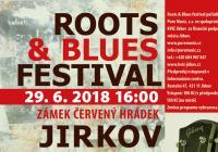 Roots blues festival - Zámek Červený Hrádek u Jirkova