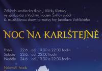 Muzikál Noc na Karlštejně - Hrad Švihov