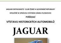 Výstava historických automobilů Jaguar na zámku Ploskovice