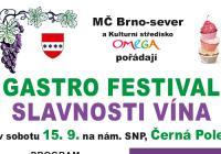 Slavnosti vína - Brno Černá Pole