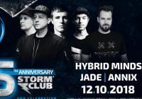 Storm club slaví narozeniny -Hybrid Minds + Jade + další