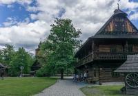 Dřevěné městečko