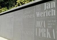 Stěna slavných návštěvníků, Luhačovice