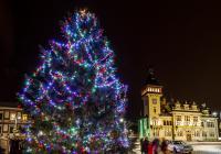 Rozsvěcování vánočního stromu v Napajedlích