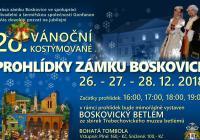 Vánoční kostýmované prohlídky na zámku Boskovice