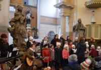 Skautské vánoční zpívání na hradě Valdštejn