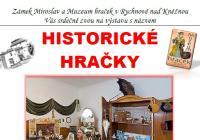 Historické hračky - Zámek Miroslav