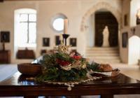 Vánoční prohlídky na hradě Kost