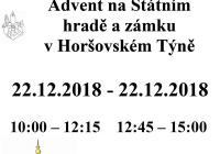 Advent na Horšovském Týně