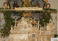 Unikátní lidový betlém na zámku Nebílovy
