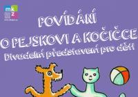 Divadelní představení pro děti: Povídání o pejskovi a kočičce