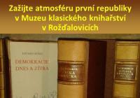 Výstavka k založení republiky v Muzeu klasického knihařství