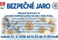 Bezpečné jaro - Dopravní hřiště Praha Radotín