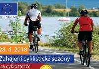 Zahájení cyklistické sezóny na cyklostezce Brno Vídeň