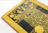 "Polička: RUB International former ""Rubrup"" Magazine of Rubberstaped art"
