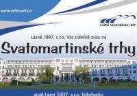 Svatomartinské trhy - Lázně Velichovky