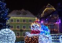 Rozsvícení vánočního stromu - Cheb
