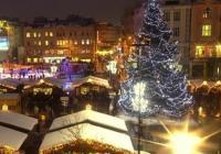 Vánoční trhy na náměstí v Ostravě