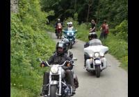 Harley Davidson a jiné choppery a cruisery pro radost dětem na hradě Starý Jičín